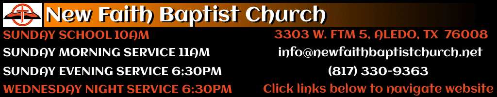 New Faith Baptist Church